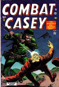 Cover Thumbnail for Combat Casey (Marvel, 1953 series) #10