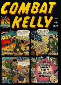 Cover Thumbnail for Combat Kelly (Marvel, 1951 series) #1