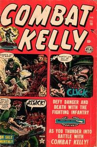 Cover Thumbnail for Combat Kelly (Marvel, 1951 series) #10