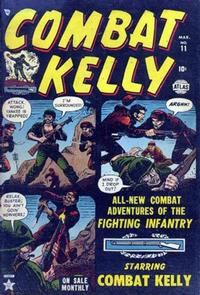 Cover Thumbnail for Combat Kelly (Marvel, 1951 series) #11