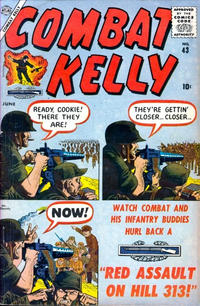 Cover Thumbnail for Combat Kelly (Marvel, 1951 series) #43