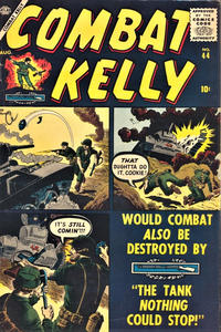 Cover Thumbnail for Combat Kelly (Marvel, 1951 series) #44
