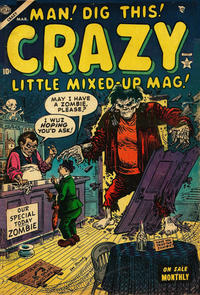 Cover Thumbnail for Crazy (Marvel, 1953 series) #4