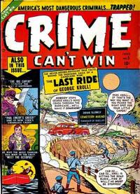 Cover Thumbnail for Crime Can't Win (Marvel, 1950 series) #5