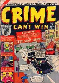 Cover Thumbnail for Crime Can't Win (Marvel, 1950 series) #6