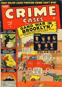 Cover Thumbnail for Crime Cases Comics (Marvel, 1950 series) #27 [4]