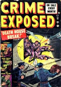 Cover Thumbnail for Crime Exposed (Marvel, 1950 series) #12