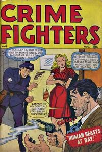 Cover Thumbnail for Crimefighters (Marvel, 1948 series) #4
