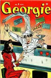 Cover Thumbnail for Georgie Comics (Marvel, 1945 series) #8