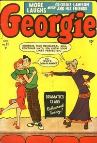 Cover Thumbnail for Georgie Comics (Marvel, 1949 series) #31