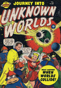 Cover Thumbnail for Journey into Unknown Worlds (Marvel, 1950 series) #37 [2]