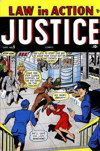 Cover Thumbnail for Justice (Marvel, 1947 series) #5