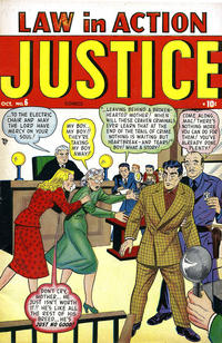 Cover for Justice (1947 series) #6