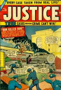 Cover Thumbnail for Justice (Marvel, 1947 series) #23