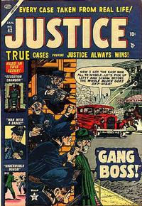 Cover Thumbnail for Justice (Marvel, 1947 series) #42