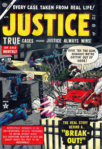 Cover for Justice (1947 series) #45