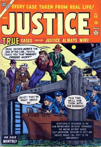 Cover Thumbnail for Justice (Marvel, 1947 series) #46