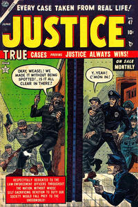 Cover Thumbnail for Justice (Marvel, 1947 series) #47