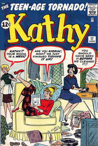 Cover Thumbnail for Kathy (Marvel, 1959 series) #17