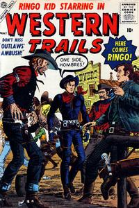 Cover Thumbnail for Western Trails (Marvel, 1957 series) #1