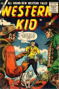 Cover Thumbnail for Western Kid (Marvel, 1954 series) #3