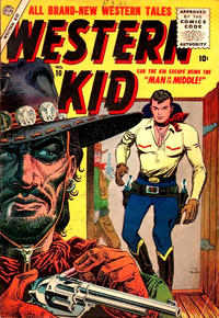 Cover Thumbnail for Western Kid (Marvel, 1954 series) #10