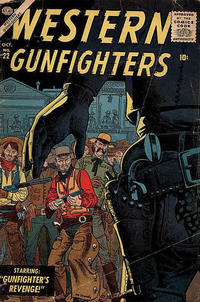 Cover Thumbnail for Western Gunfighters (Marvel, 1956 series) #22