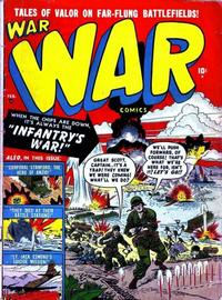 Cover Thumbnail for War Comics (Marvel, 1950 series) #2