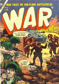 Cover Thumbnail for War Comics (Marvel, 1950 series) #22