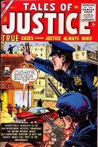 Cover for Tales of Justice (1955 series) #56