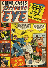 Cover for Private Eye (1951 series) #2
