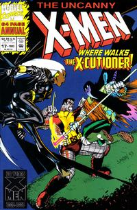Cover Thumbnail for The Uncanny X-Men Annual (Marvel, 1992 series) #17 [Direct Edition]