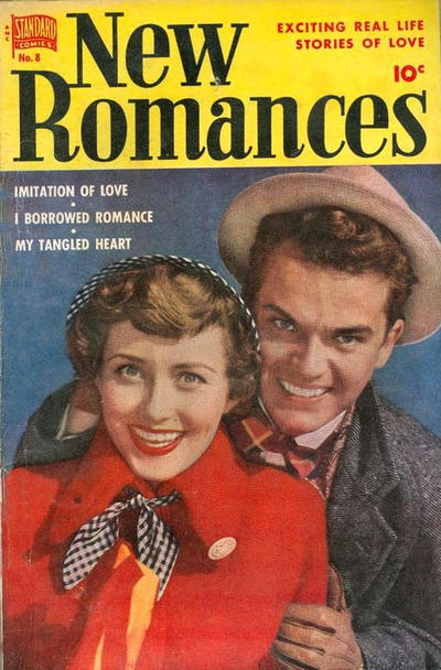 Cover for New Romances (Pines, 1951 series) #8