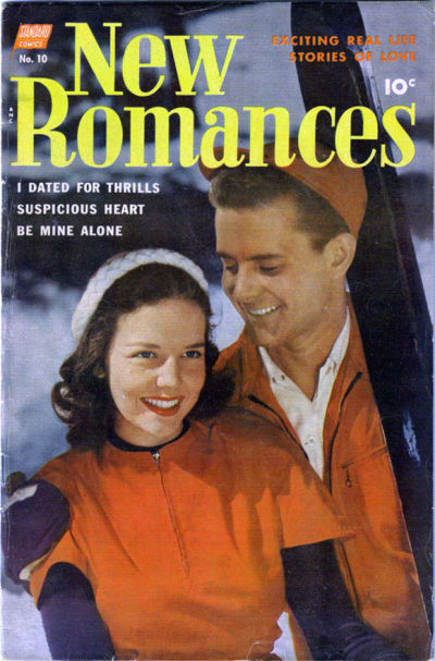 Cover for New Romances (1951 series) #10