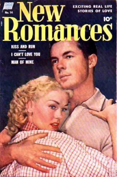 Cover for New Romances (Standard, 1951 series) #14