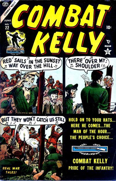 Cover for Combat Kelly (1951 series) #22