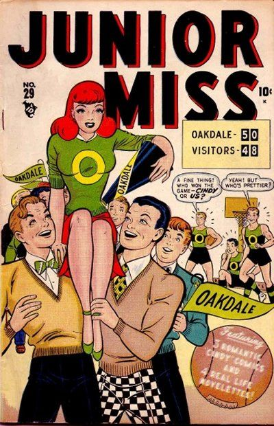 Cover for Junior Miss (Marvel, 1947 series) #29