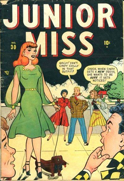 Cover for Junior Miss (Marvel, 1947 series) #30