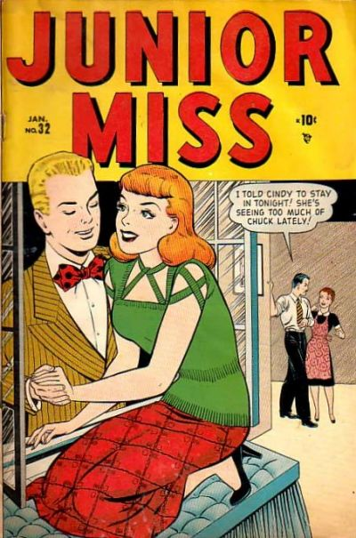 Cover for Junior Miss (Marvel, 1947 series) #32