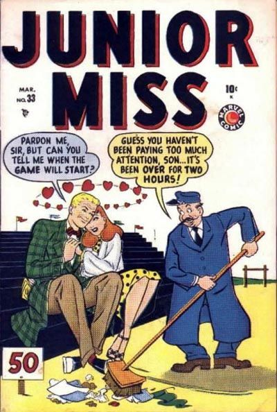 Cover for Junior Miss (Marvel, 1947 series) #33