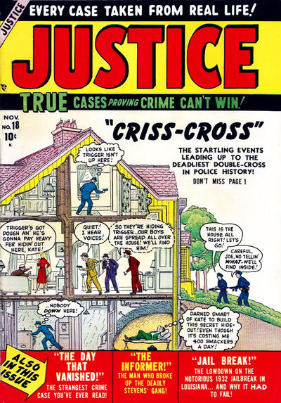 Cover for Justice (Marvel, 1947 series) #18