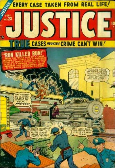 Cover for Justice (1947 series) #23