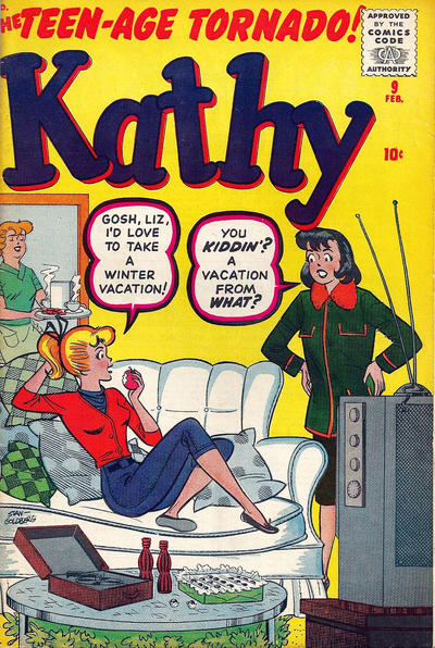 Cover for Kathy (Marvel, 1959 series) #9