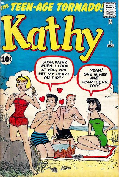 Cover for Kathy (Marvel, 1959 series) #13