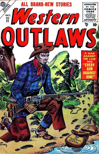 Cover for Western Outlaws (Marvel, 1954 series) #11