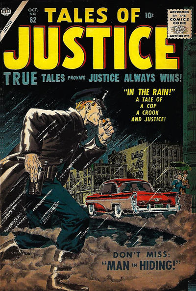Cover for Tales of Justice (Marvel, 1955 series) #62