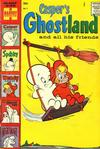 Cover for Casper's Ghostland (Harvey, 1959 series) #1 [25¢ Cover Price]