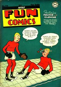 Cover Thumbnail for More Fun Comics (DC, 1936 series) #112
