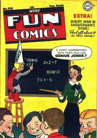 Cover Thumbnail for More Fun Comics (DC, 1936 series) #118