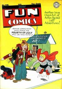 Cover for More Fun Comics (1936 series) #120